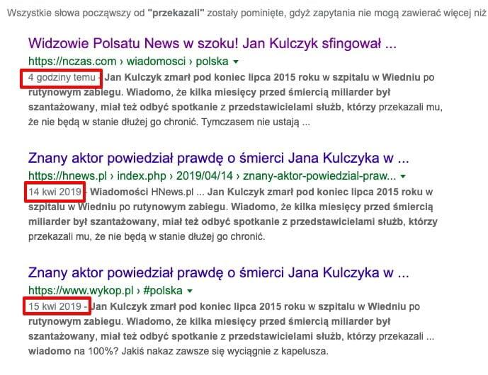 Jan Kulczyk żyje