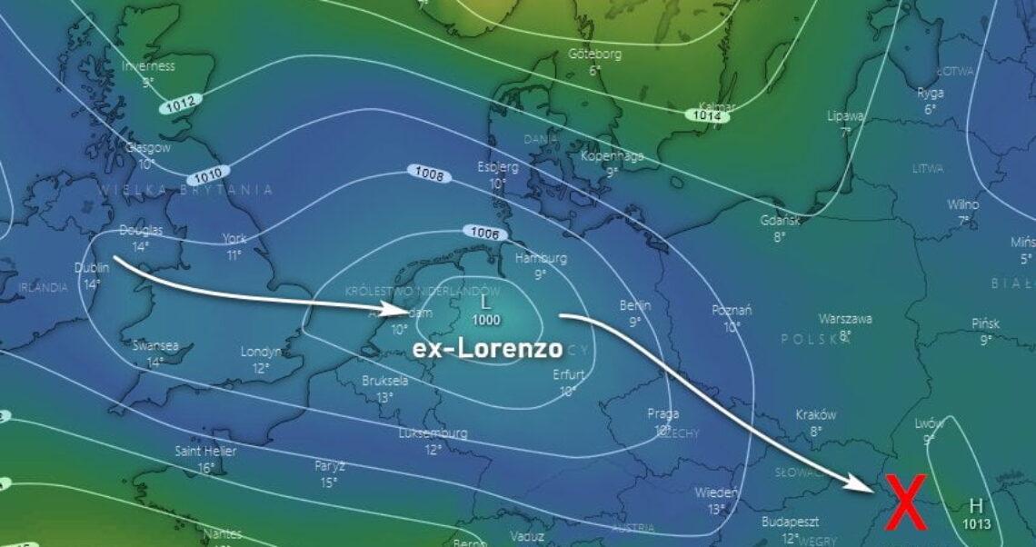 Ogromny huragan nadciąga nad Europę?
