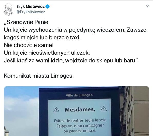 Eryk Mistewicz Limoges