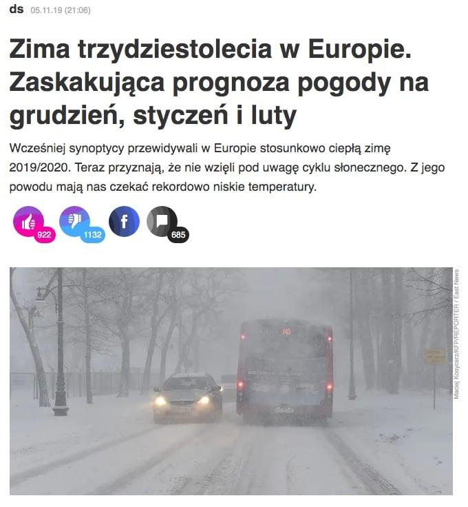 zima trzydziestolecia