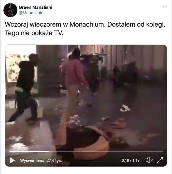 Zamieszki w monachium