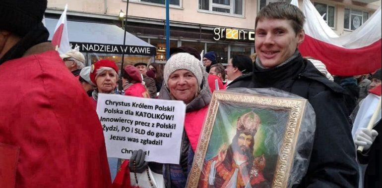 """Hasło """"Żydzi, PO i SLD do gazu"""" na Marszu Niepodległości?"""
