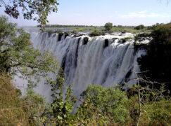 Czy Wodospady Wiktorii wysychają przez zmianę klimatu?