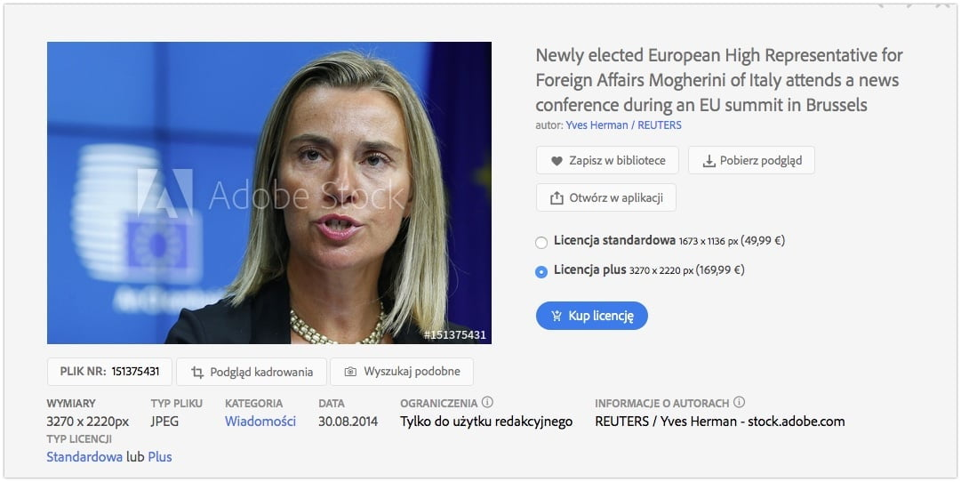 Federica Mogherini - Adobe Stock Photos
