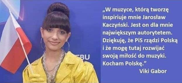 Viki Gabor Jarosław Kaczyński
