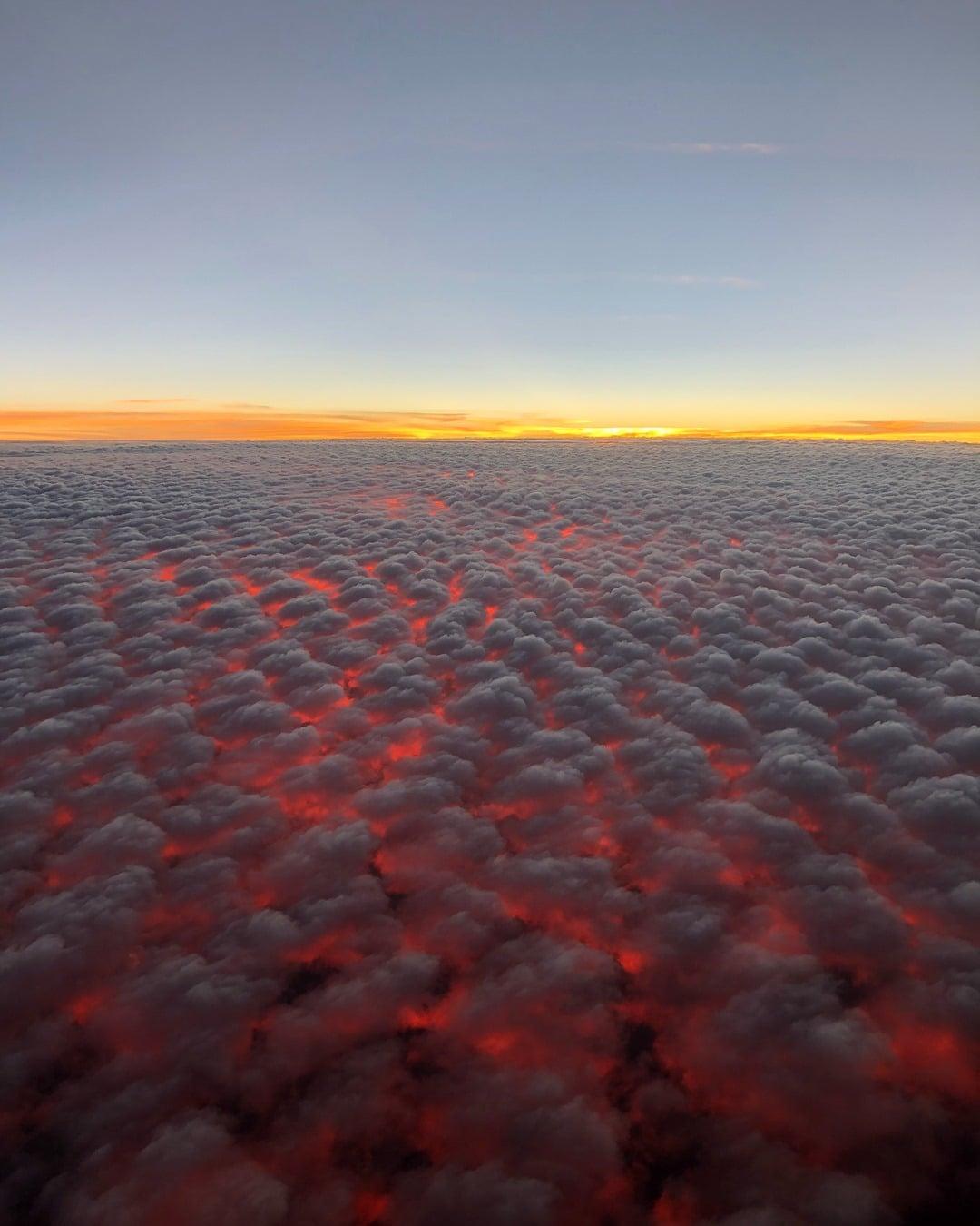 Chmury, Australia, fake