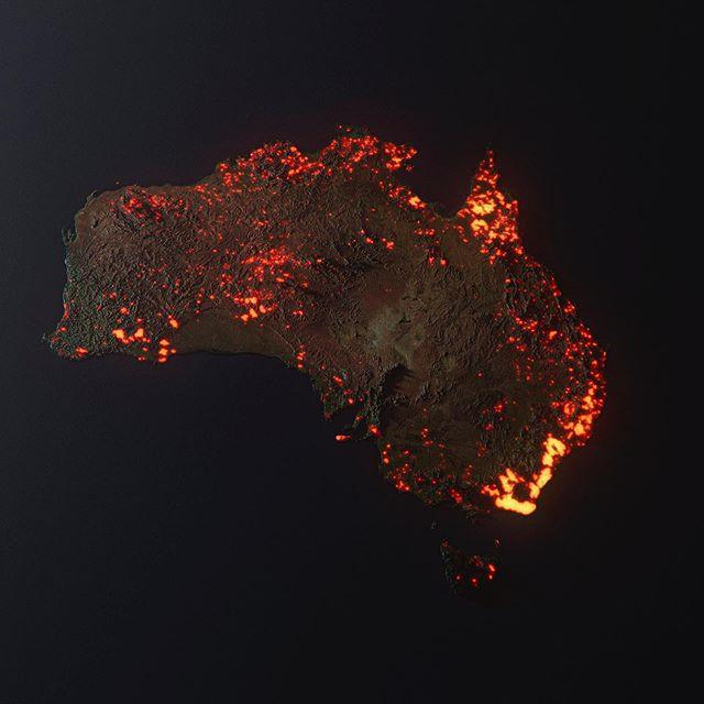 NASA 3D Australia