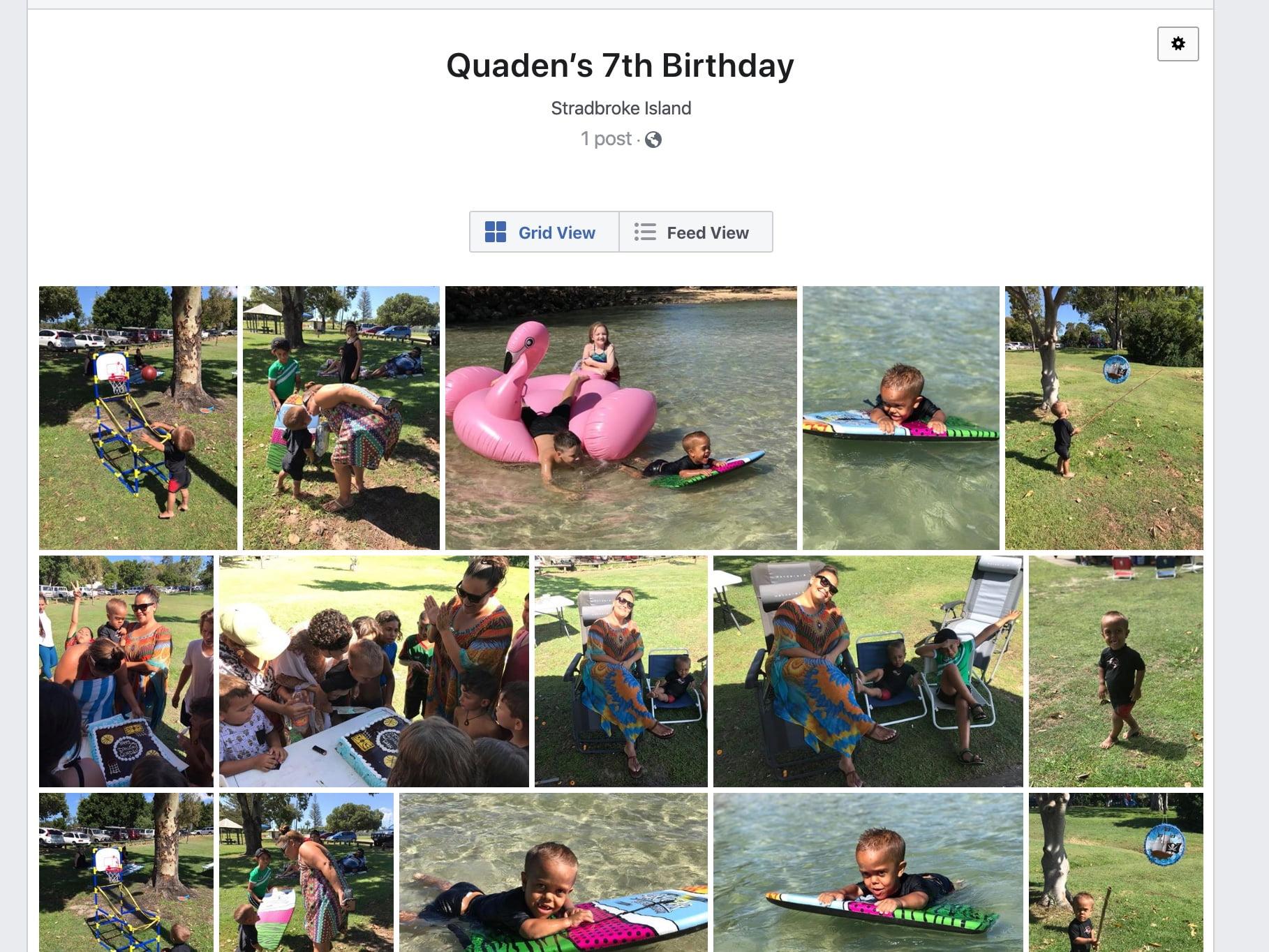 Quaden Bayles 7 urodziny