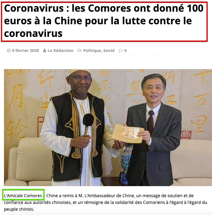 Comores Info