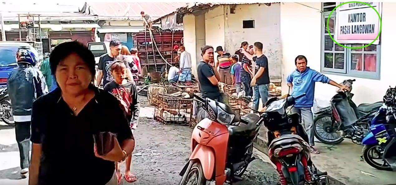 Pasar EXTREME Langowan