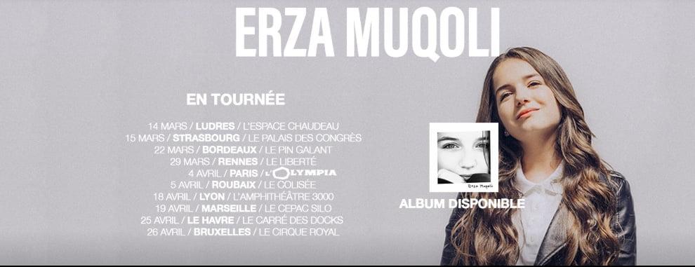 Erza Mugoli Tournee
