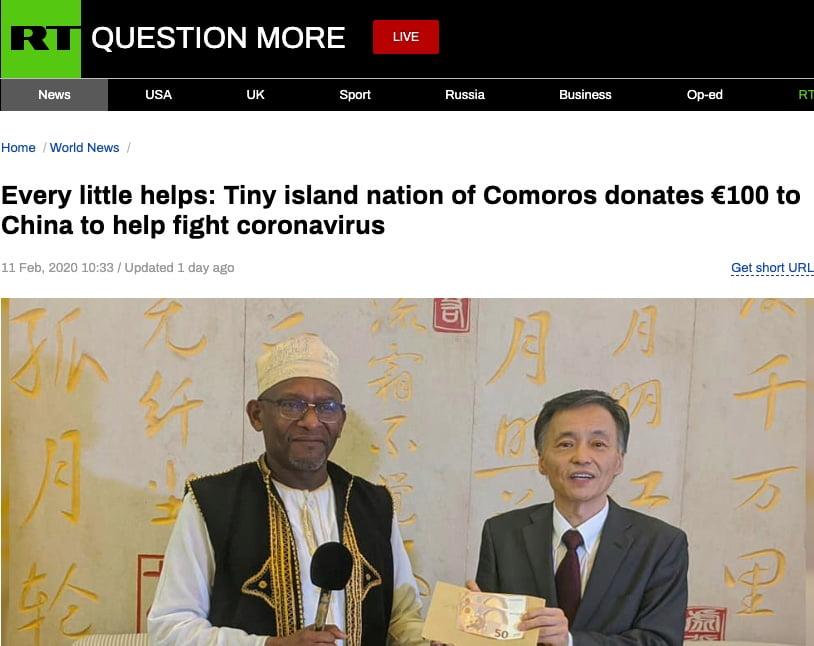 Russia Today - Comores