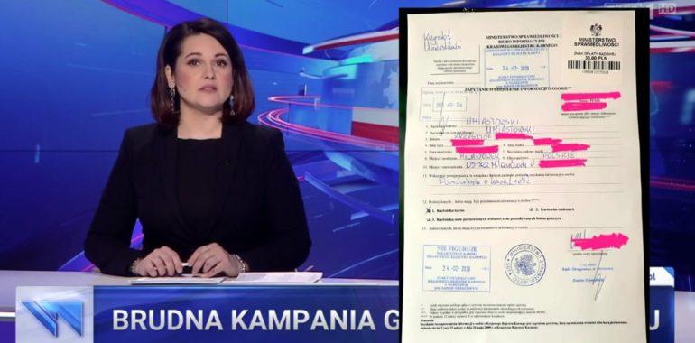 Nie, Krzysztof Umiastowski nie został skazany prawomocnym wyrokiem sądu