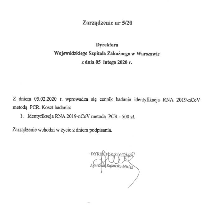 Koronawirus - Wojewódzki Szpital Zakaźny