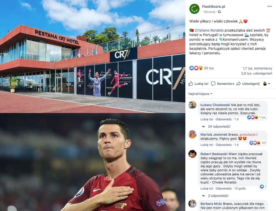 Ronaldo - Szpitale