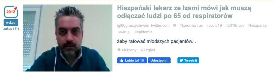 Hiszpański Lekarz - Wykop.pl