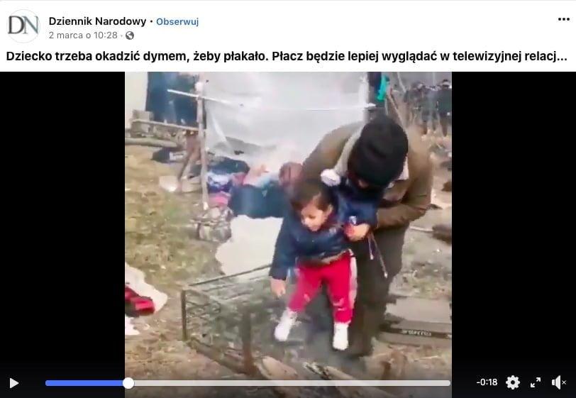 imigranci biją i podduszają dzieci