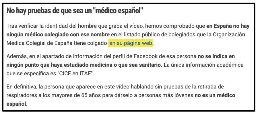 Matilda.es - Fact Check