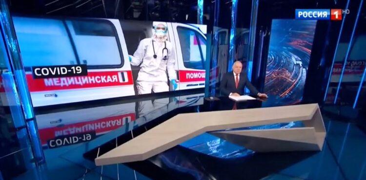 Jak wygląda propaganda dotycząca koronawirusa w Rosji?