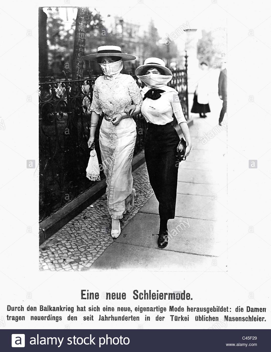 1913 - Moda oparta na wpływach tureckich