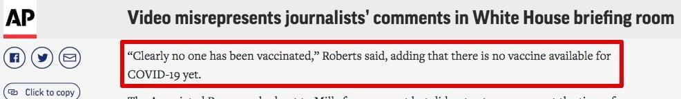 Roberts Associated Press