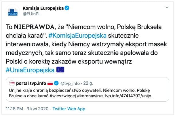 Niemcom wolno, Polskę Bruksela chciała karać