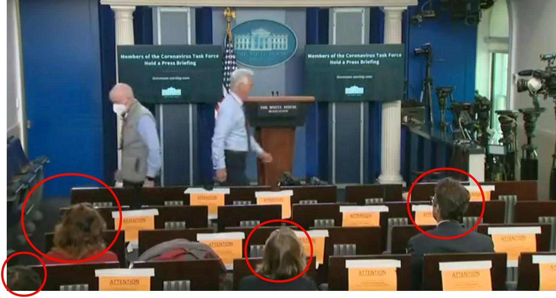 Konferencja - Donald Trump - Covid 19