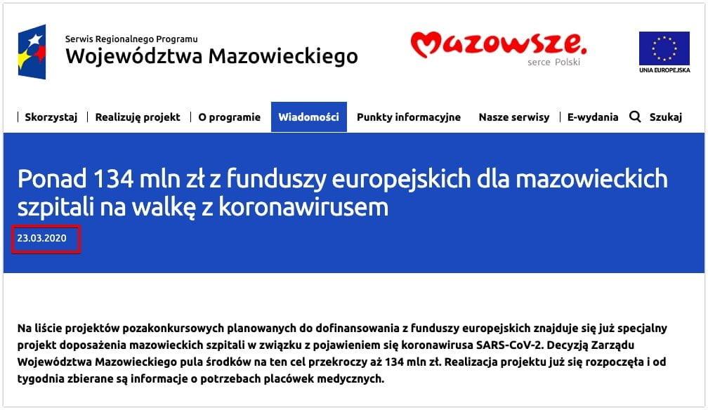 Morawiecki Unia Europejska