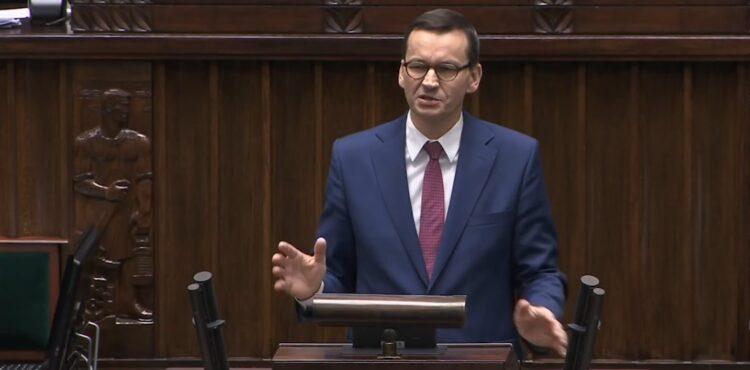 """Morawiecki: """"Unia Europejska nie dała eurocenta na walkę z koronawirusem"""". To nieprawda"""