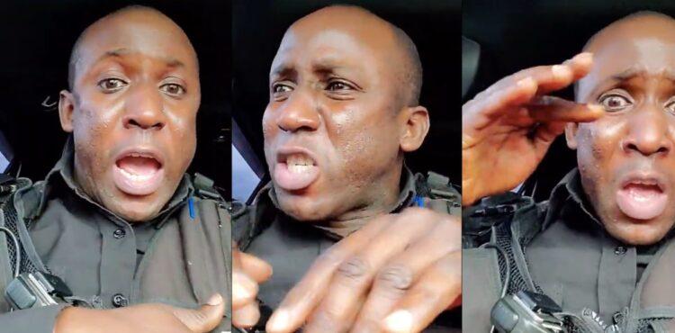 To nie jest szef policji z Ugandy, to YouTuber z Seattle