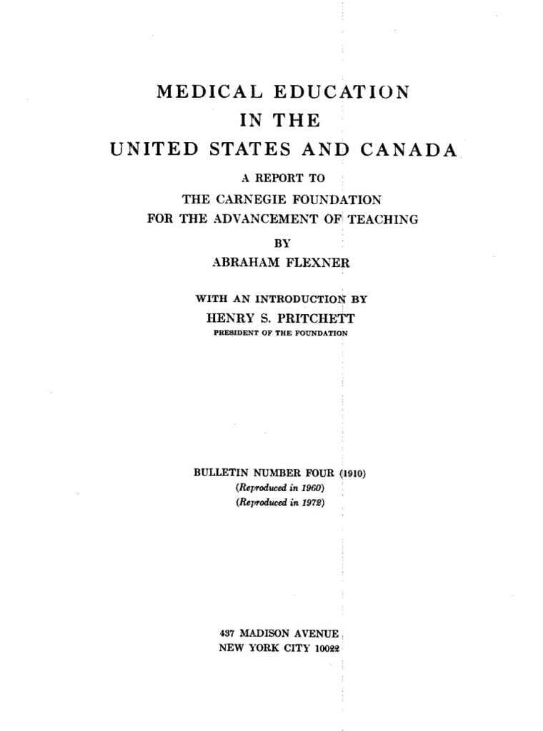 Raport Flexnera z 1910 roku