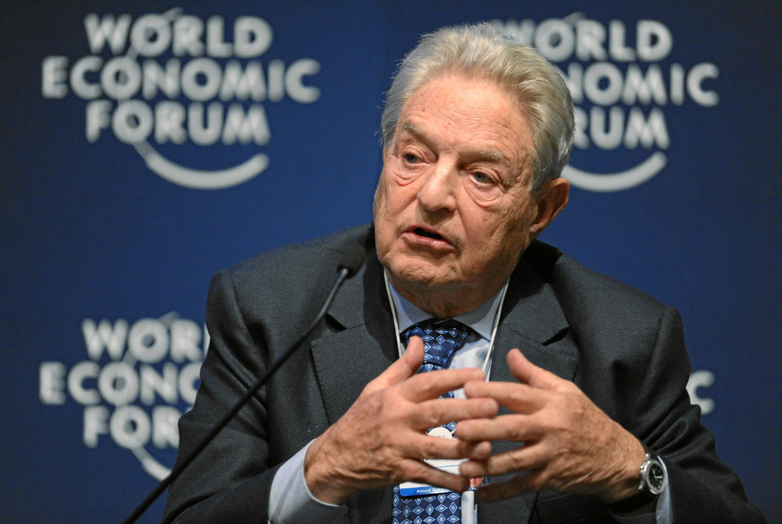 George Soros na Światowym FOrum Ekonomicznym w 2011 roku.