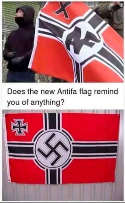 Fałszywa Flaga Antify