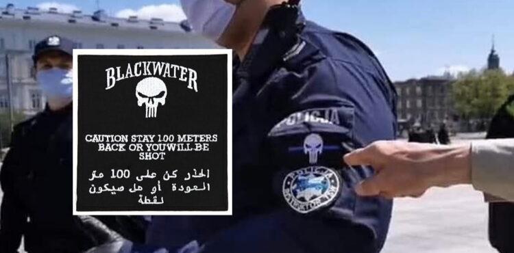 Polska Policja pracuje dla Blackwater? To fake news