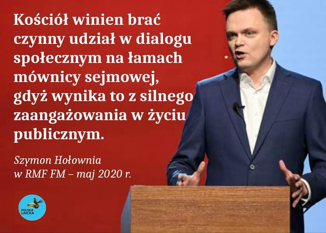 Szymon Hołownia Fake