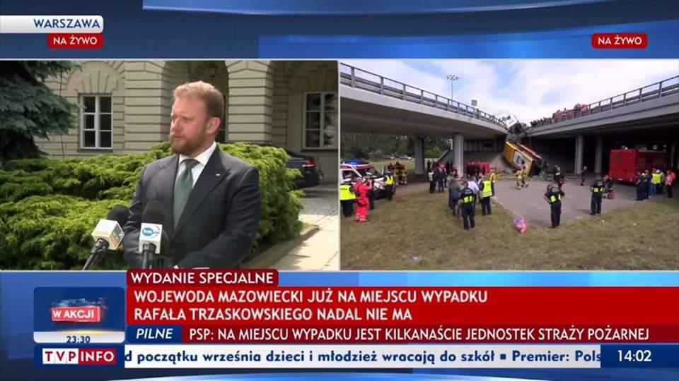 Rafała Trzaskowskiego nadal nie ma / Fake News
