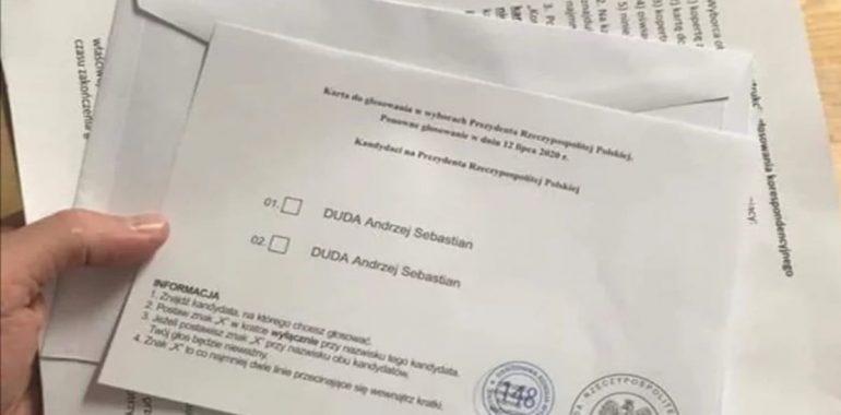 Andrzej Duda podwójnie na karcie wyborczej? To przeróbka.