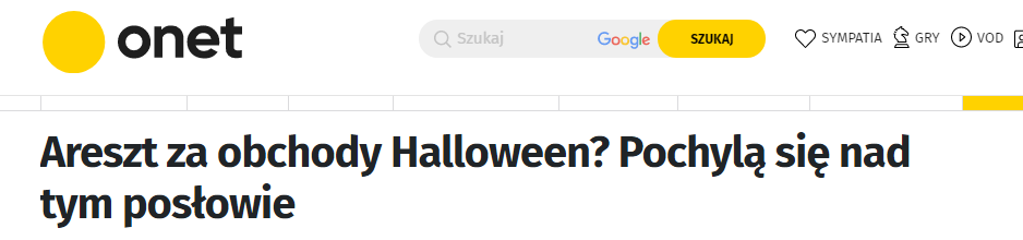halloween zakaz petycja