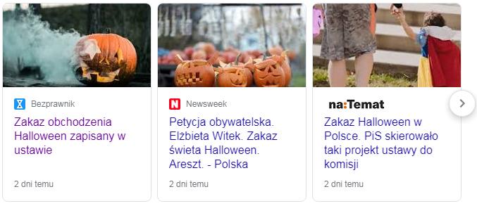 hallowen zakaz petycja