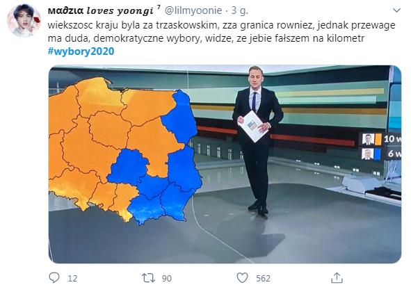 wybory sfałszowane trzaskowski