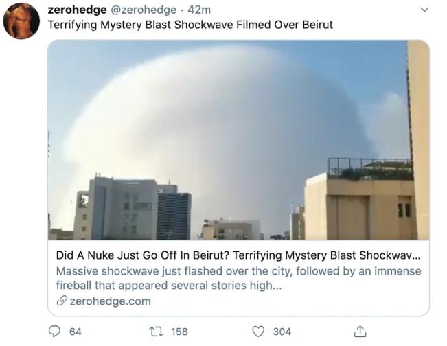 bejrut wybuch bomba