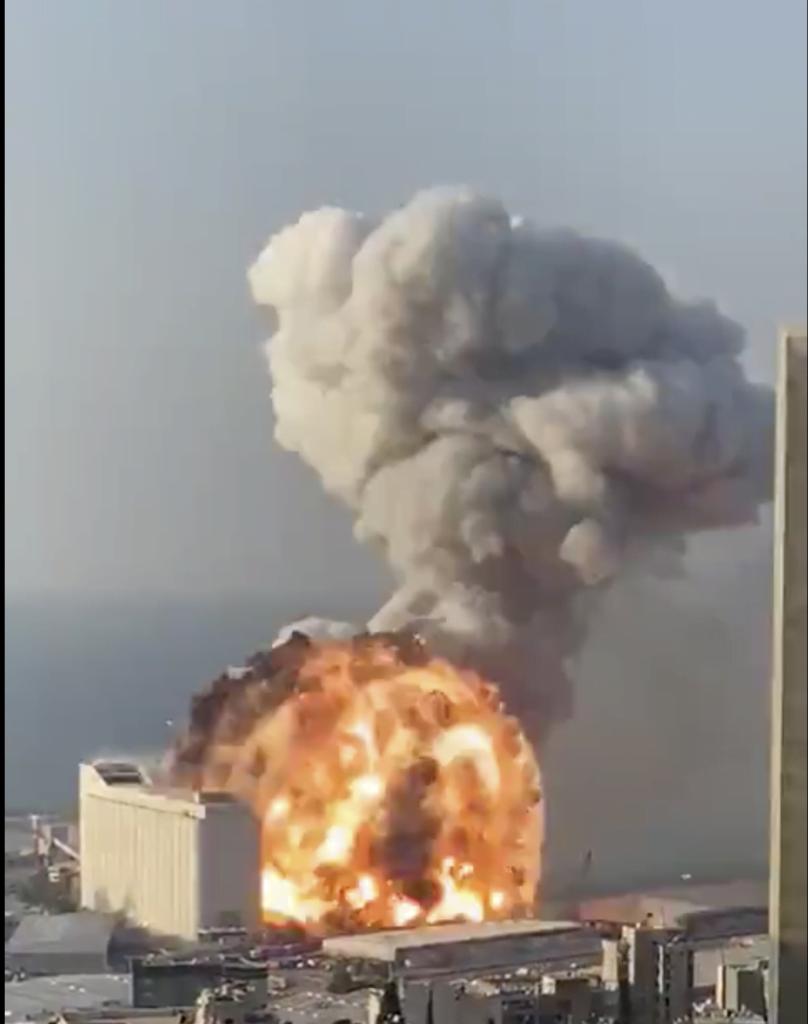 wybuch Bejrut