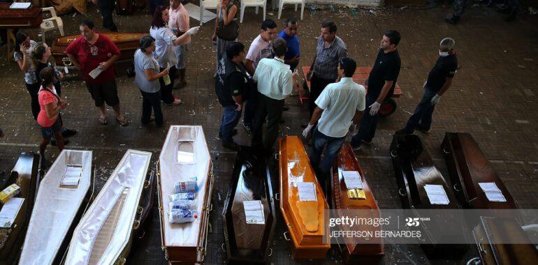 To nie są puste trumny ofiar koronawirusa w Brazylii
