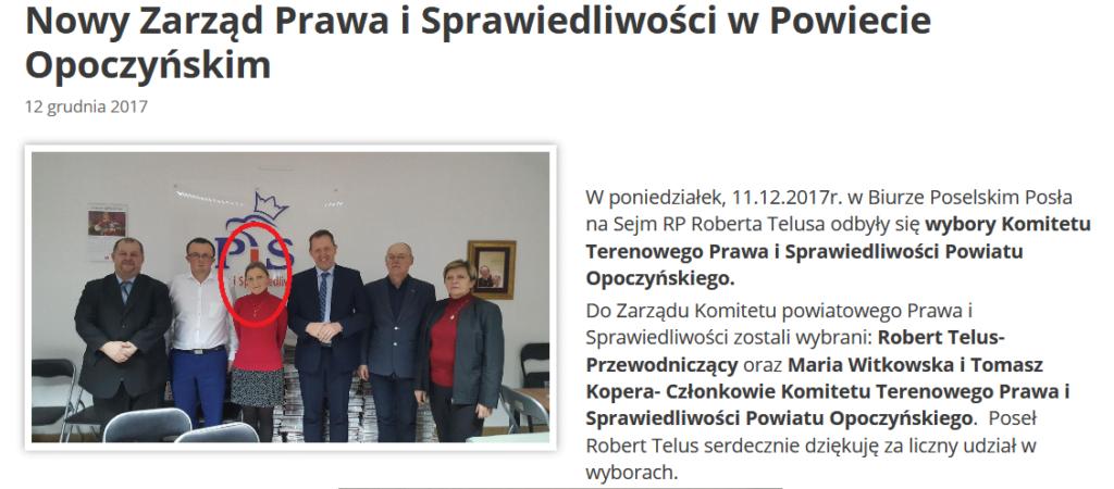 Nowy Zarząd PiS