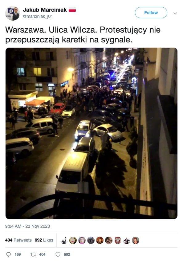 Marciniak / Strajk Kobiet