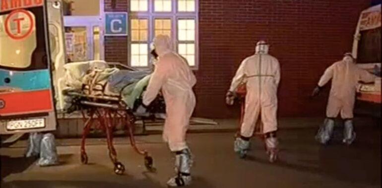 Manekin zamiast pacjenta w karetce? To fake news