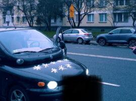 Mandat za osiem gwiazd na samochodzie? Sprawdzamy