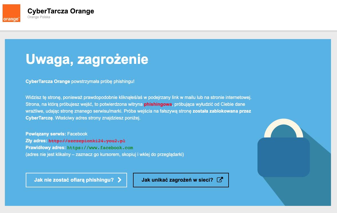 CyberTarcza Orange