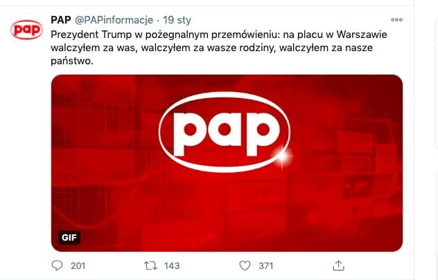 PAP - na placu w Warszawie walczyłem za was, walczyłem za wasze rodziny, walczyłem za nasze państwo
