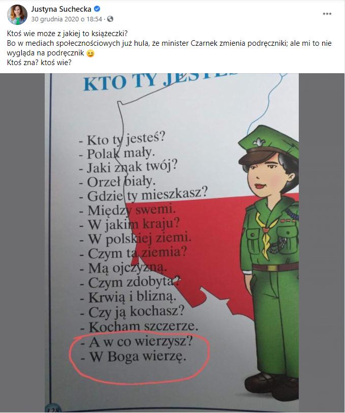 Justyna Suchecka - Kto ty jesteś?